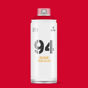 Bombe peinture 400ml MTN94 Rouge madrid