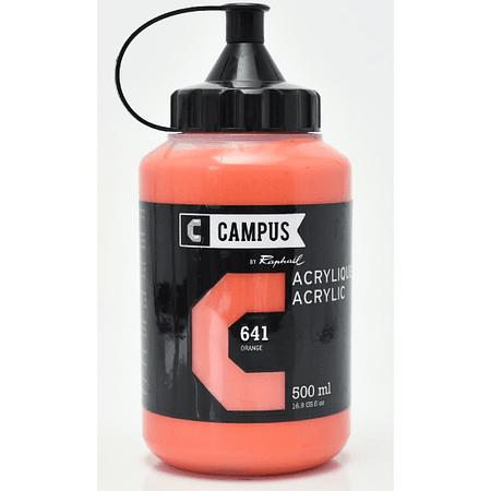 Peinture acrylique Campus 500ml Orange